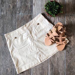 Lilly Pulitzer Corduroy Mini Skirt